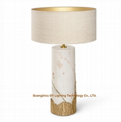 new marble table lamps lamps for hotels, living rooms, bedroom, lobby, inns