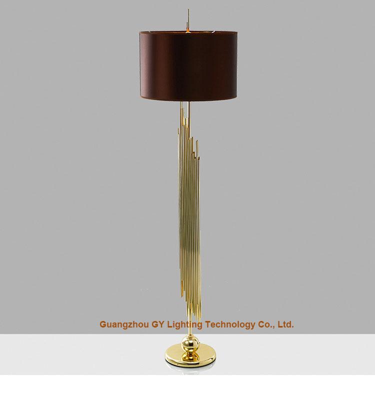 European style of metal floor lamps, modern floor lamps, hotel floor lamps 1