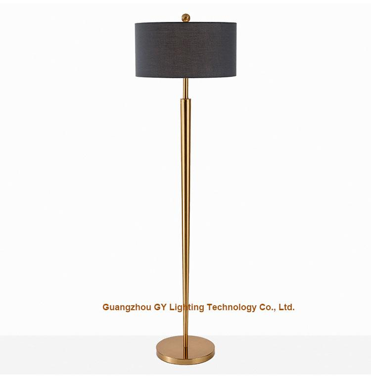 modern metal floor lamps for hotels, living rooms, lobby, inns 1