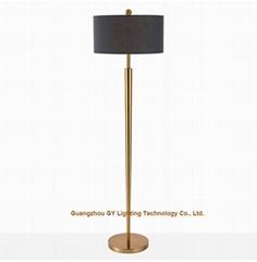 modern metal floor lamps for hotels, living rooms, lobby, inns