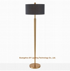 modern metal floor lamps for hotels, living rooms, lobby, inns