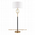 contemporary metal crystal floor lamp for hotel, living room, villa and casino 1