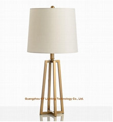 new design of metal table lamps for home furnishing, hotels, villas, casino, inn