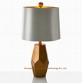 new design of metal table lamp for living room, hotel guest room, inns, casinos