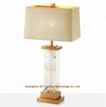 popular marble table lamps for hotels,