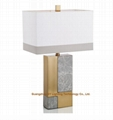 luxurious marble table lamps lamps for hotels, living rooms, bedroom, lobby, inn