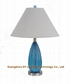 GY lighting clear poly table lamps w/
