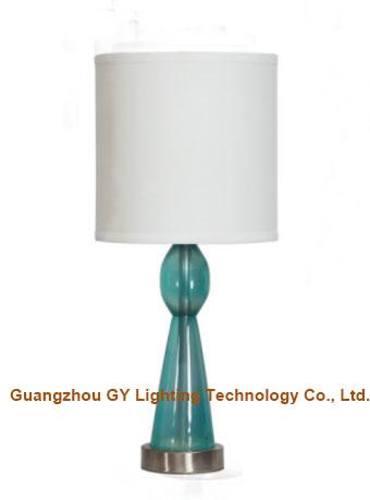 clear poly table lamp desk lamp with hardback fabric lamp