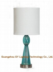 clear poly table lamp de