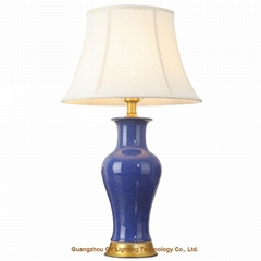 GY hand made porcelain ceramic table lamps for living room, bedroom and offices
