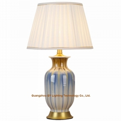 GY lighting porcelain table and desk lamps for living room, bedroom and offices