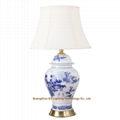 GY lighting blue and white porcelain