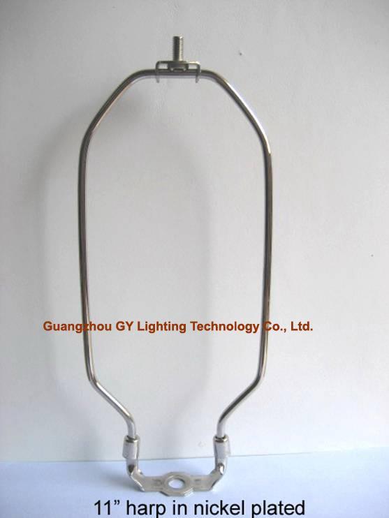 custom octagonal lamp harp, lampshade harps for table lamp and floor lamps 1