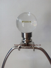 crystal lamp finials with nickel plated metal finial base fm GY lighting