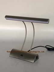GY lighting LED desk lamp,reading lamp, office lamp with based outlet and switch