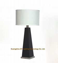 wood table lamp, wooden table lamps for hotel, bedroom, living room and villas