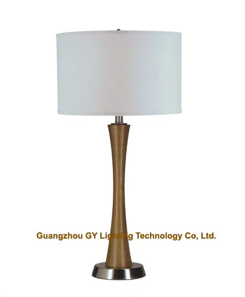 wooden table lamps for hotel, bedroom, living room and villas 1