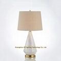 porcelain table lamp, ceramic table lamp