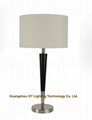 modern wooden hotel table lamp,