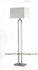 modern stainless steel floor lamp, standing lamps for hotel, living room, villa