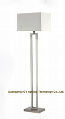 modern stainless steel floor lamp, standing lamps for hotel, living room, villa