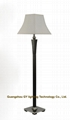 custom wood floor lamp standing lamps for hotels, hospitality, inns, villa