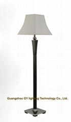 custom wood floor lamp standing lamps for hotels, hospitality, inns, villa