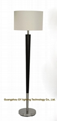 popular wood floor lamp standing lamps for hotels, hospitality, inns, villa