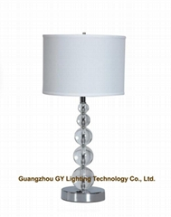crystal table lamp, hotel table lamp, home table lamp, indoor table lamps
