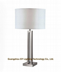modern table lamp with based on-off switch for hotels, hospitality, inns, casino
