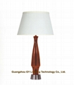 shop clear poly resin table lamps from Guangzhou GY lighting technology
