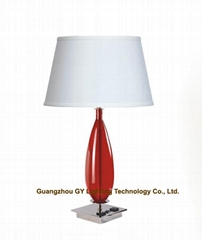 buy transparent poly table lamps at Guangzhou GY lighting Technology Co., Ltd.