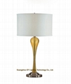 Guangzhou GY lighting transparent poly resin table lamps for hotel, inns, casino