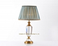 contemporary crystal table lamps for hotel, living room, bedroom and casino