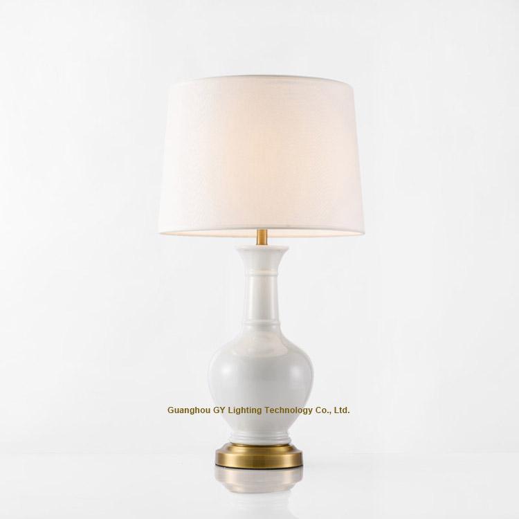 porcelain table lights, ceramic table lamp, porcelain bedside table lamp 1