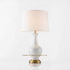 porcelain table lights, ceramic table lamp, porcelain bedside table lamp