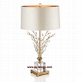 new crystal table lamp, hotel table lamp