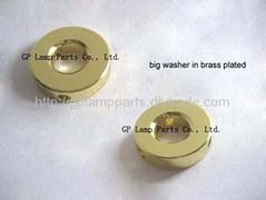 """lamp parts 1"""" lampshade washers - spider lamp shades washers - lampshade parts"""
