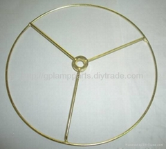 lampshade wire rings, top rings frames for fabric lampshades