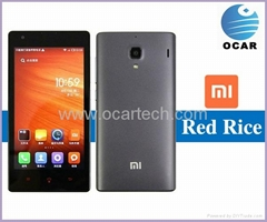 High Quality Xiaomi red rice quad core phone MTK6589T 1.5GHz 1G RAM Android 4.2