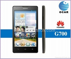 "Original Huawei G700 MTK6589 quad core phone 5"" HD Android 4.2 GPS mobile phone"