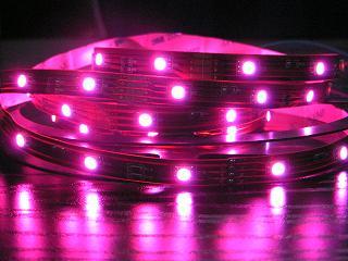 RGB LED STRIP, 12V, 5 METERS REEL 3