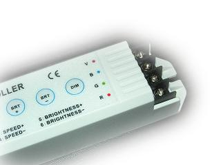 DIMMABLE WIRELESS LED RGB CONTROLLER 3