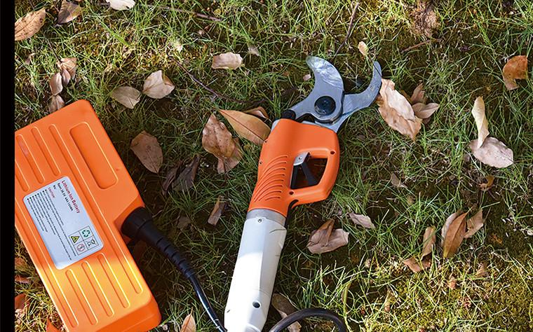 Electric pruning shears garden electric secateurs orchard electric scissors 3