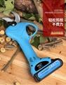 无线电动剪枝机充电式修枝剪锂电剪枝剪果树高枝电剪子粗枝剪 7