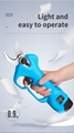 舒畅果树电动修枝剪,锂电剪刀,充电树枝剪,电动剪刀 8