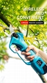 Electric pruning shear , cordless electric pruning scissor,pruner shear 6