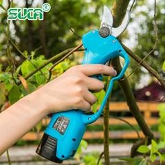 舒暢果樹電動修枝剪,鋰電剪刀,充電樹枝剪,電動剪刀