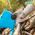 Battery operated tree branch cutter, electric topiary hand pruners shear 3