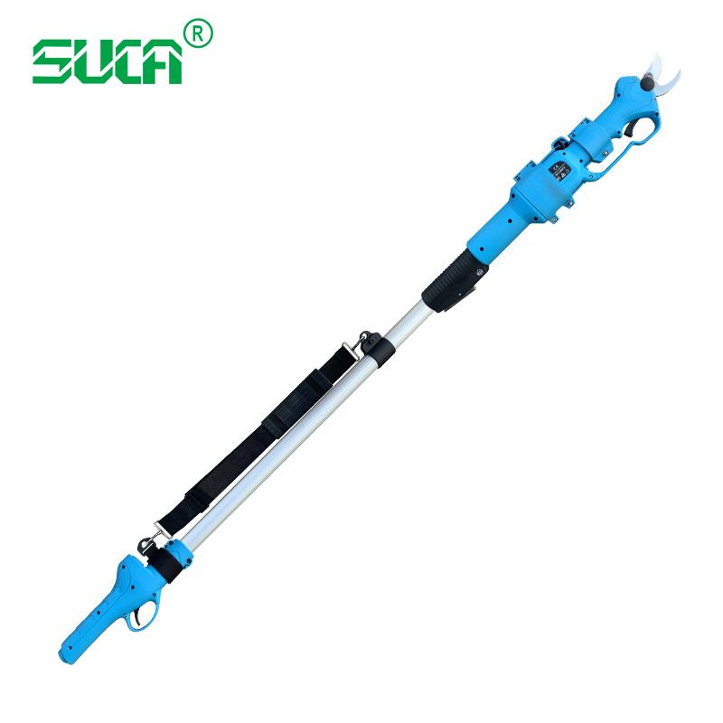 Battery operated tree branch cutter, electric topiary hand pruners shear 5